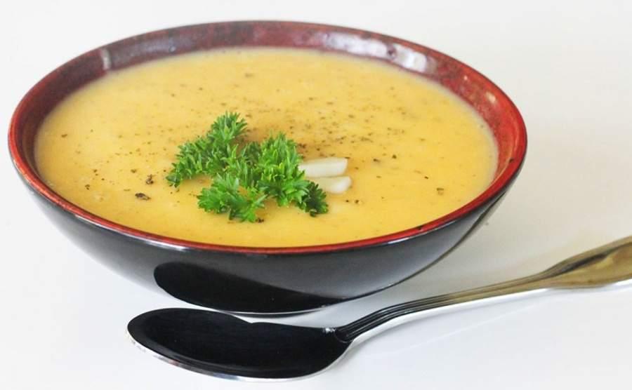 Zupa krem z cukinii z ziemniakami