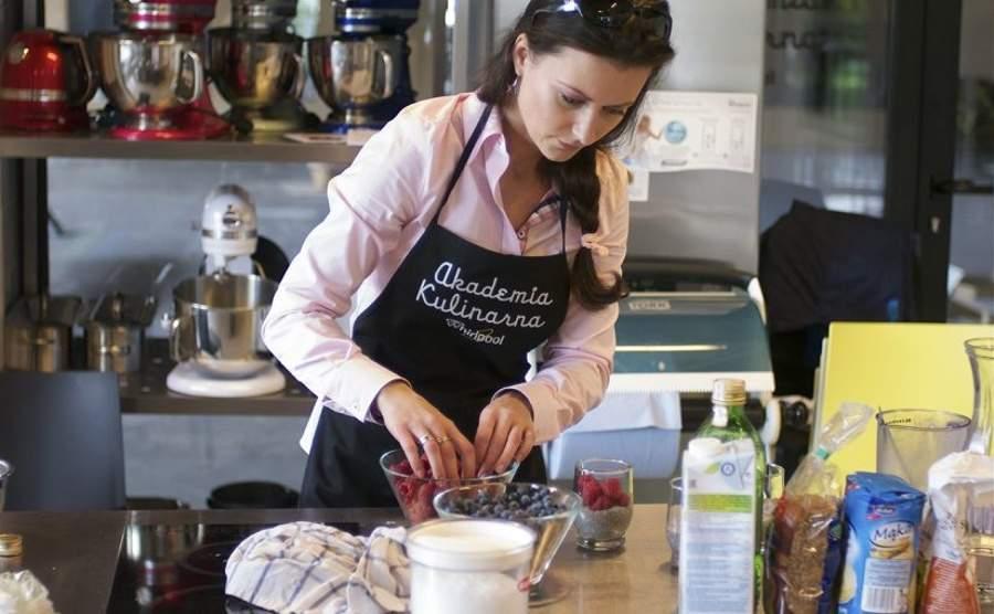 Warsztaty kulinarne Akademii Whirlpool - wegańskie śniadanie