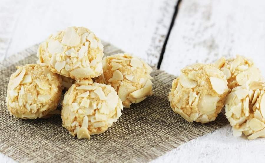 Ciasteczka z mąki migdałowej