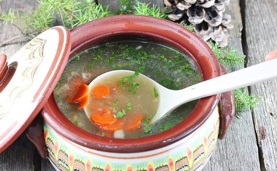 Wigilijna zupa z karpia
