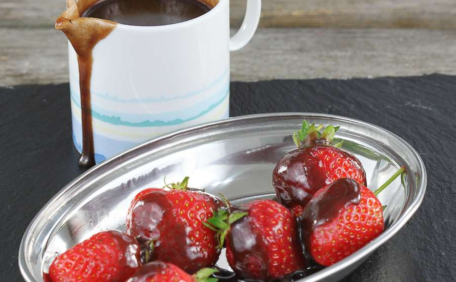 Domowy sos toffi z kakao