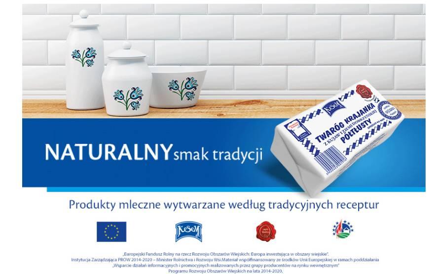 Twaróg krajanka z Kujaw i Ziemi Dobrzyńskiej