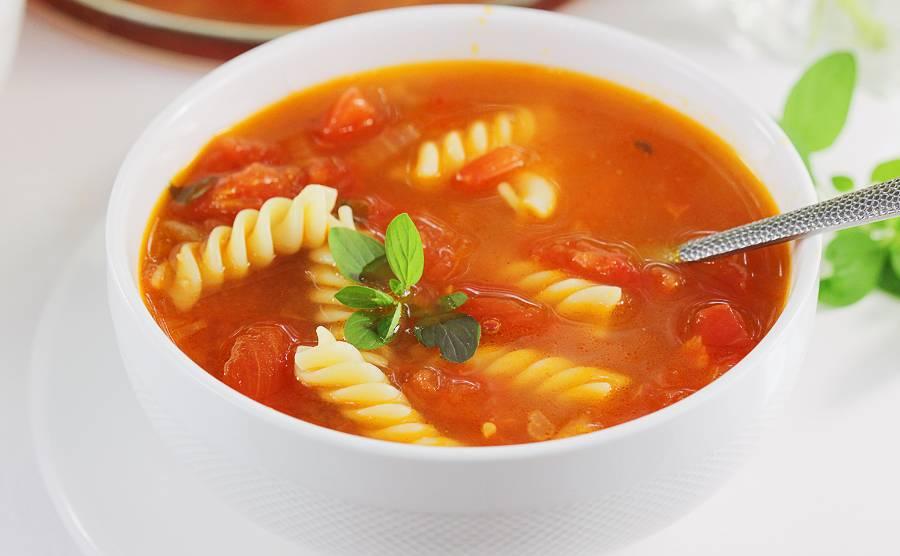 Zupa pomidorowa z pomidorów