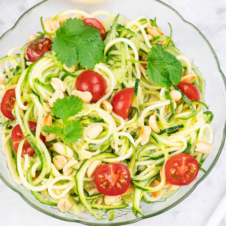 Spaghetti z warzyw